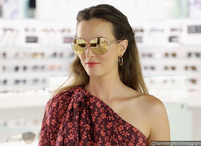 Leighton Meester Looks Unrecognizable as She Goes Platinum Blonde