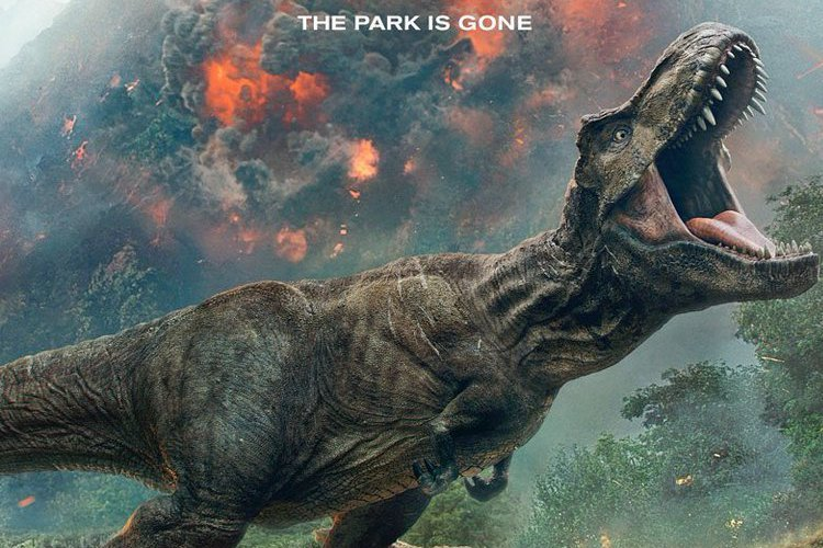 Fallen Kingdom Poster Lets Us Know The Park is Gone
