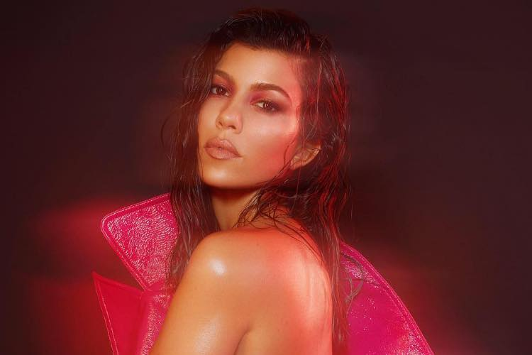 Kourtney Kardashian Promotes Kylie Cosmetics Collab by Baring All for V Magazine