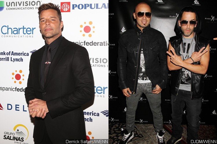Ricky Martin, Wisin and Yandel Open Billboard Latin Music Awards With Performance of 'Fiebre'