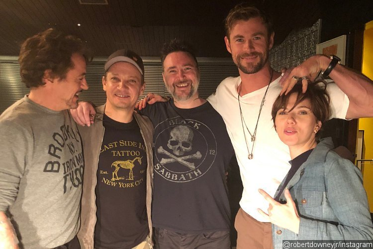 Original Five Avengers Got Matching Tattoos - See the Pics and Videos!
