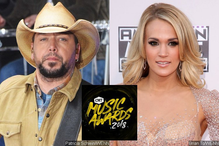 CMT Music Awards 2018: Jason Aldean and Carrie Underwood Lead Nominations