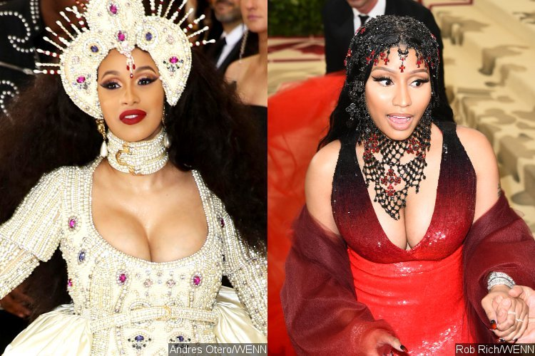 Nicki Minaj & I Cleared Up Our Issues During the MET Gala