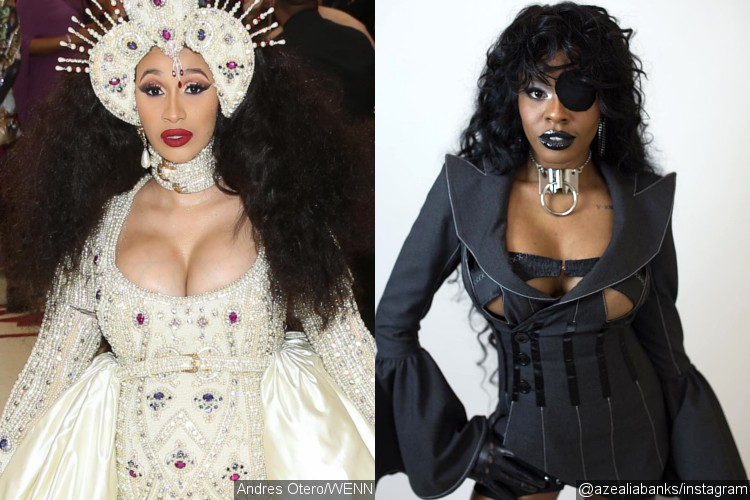 Cardi B deletes Instagram after row with Azealia