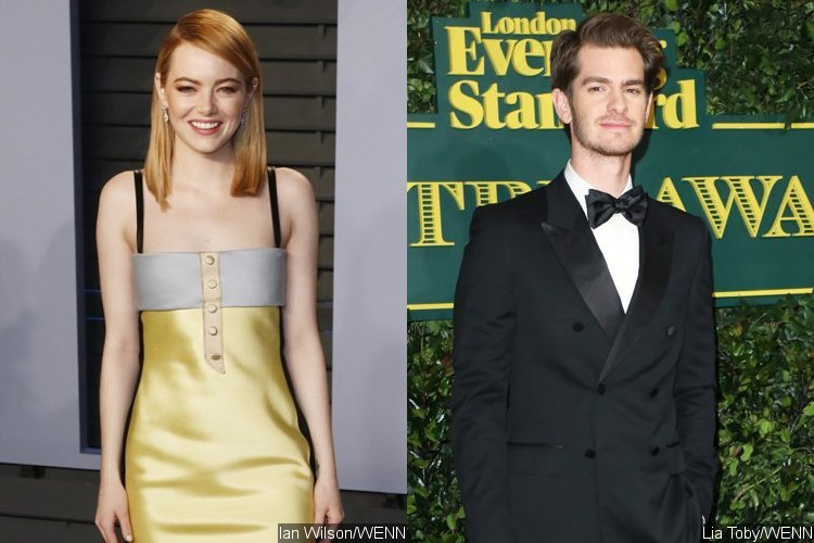 emma stone and andrew garfield 2018