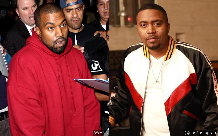 Kanye West Makes Surprise Appearance at Listening Party for Nas' 'NASIR'