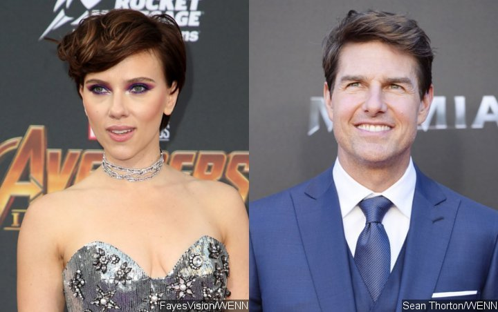 Scarlett Johansson Denies 'Crazy' Report Saying She Auditioned to Date Tom Cruise
