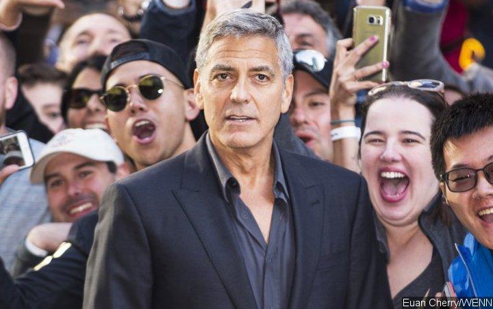 George Clooney Spotted Leaving Sardinia After Scooter Crash