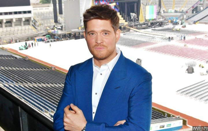 Michael Buble Tears Up at First Show Since Son's Cancer Battle