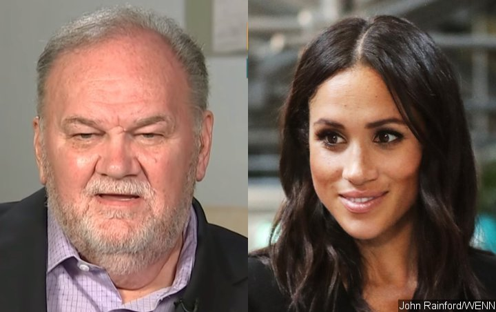 Meghan Markle is faking her smile, says her father