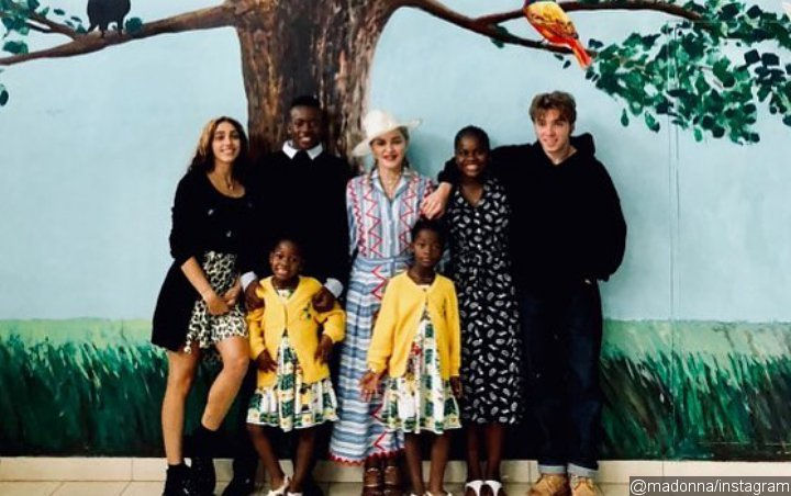 Madonna and Children Celebrate One-Year Anniversary in Malawi Hospital