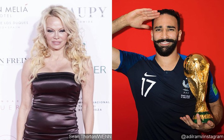 Pamela Anderson Introduces French Boyfriend Adil Rami to Her Mom