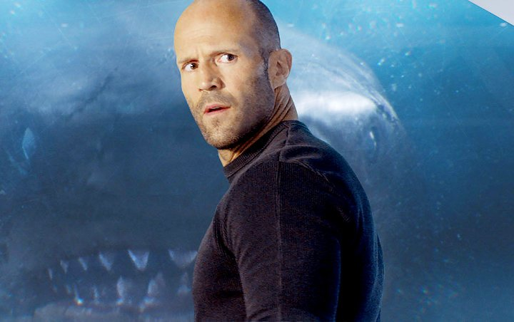 Jason Statham Had No Fear Swimming With Real Sharks for 'The Meg'