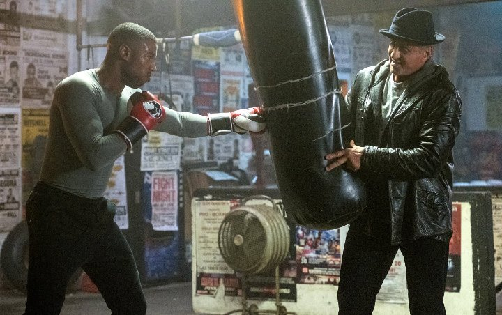 Michael B. Jordan Practices Boxing With Sylvester Stallone in First 'Creed II' Photos