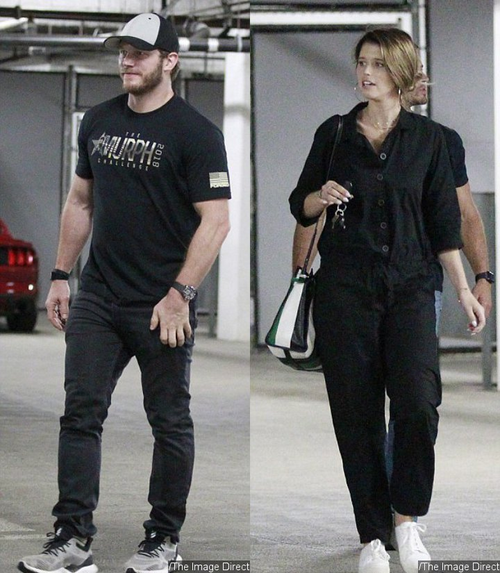 Chris Pratt and Katherine Schwarzenegger on a Movie Date With His Son Jack