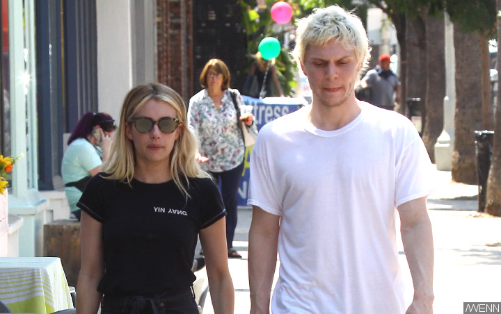 Evan Peters Reveals Emma Roberts Made the First Move on Him