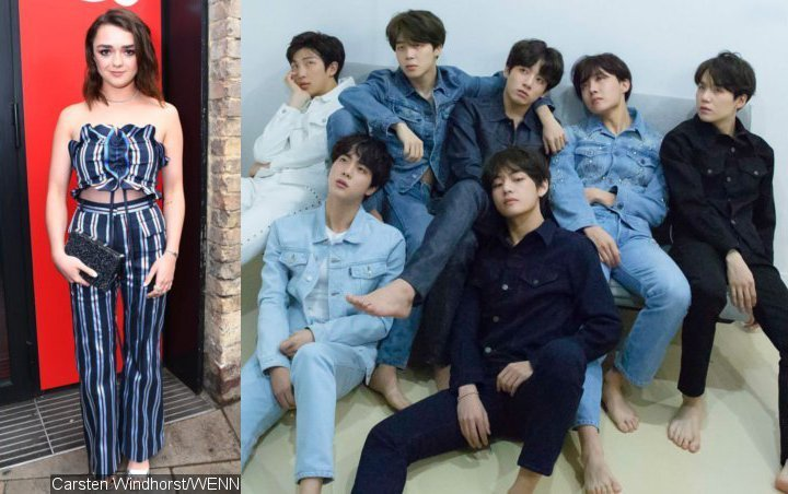 Maisie Williams Is a Big Fan of BTS - Find Out Her Favorite Member