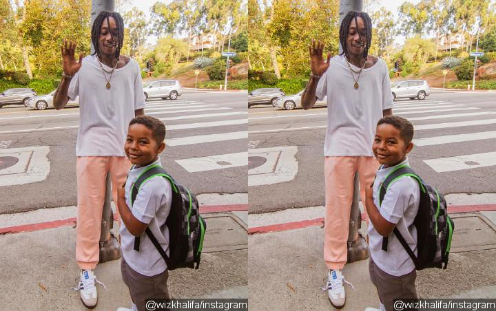 Wiz Khalifa Hits Back at Hater Complaining About His Son Riding Bus to School