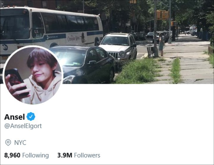 Ansel Elgort's profile picture on Twitter