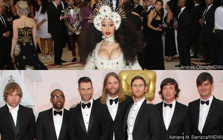 Cardi B May Join Maroon 5 at Super Bowl Halftime Show, but Under This Condition