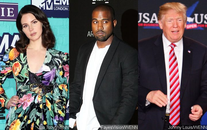 Lana Del Rey: Kanye West Supports Donald Trump Due to Delusions of Grandeur