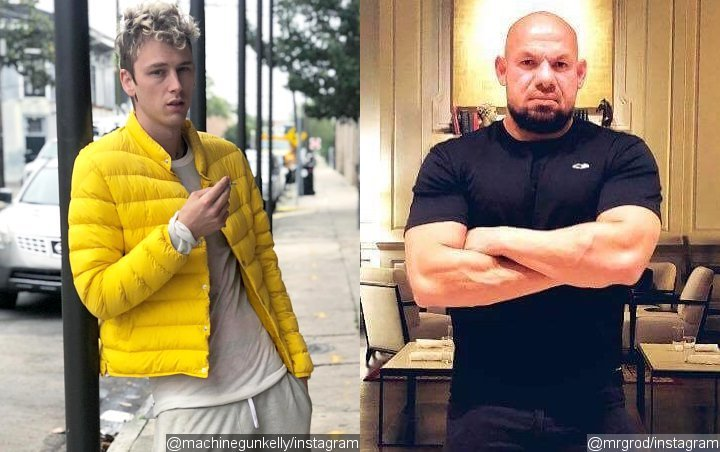 Did Machine Gun Kelly Order His Crew to Beat Up Actor Over Eminem Feud? Watch Brutal Video