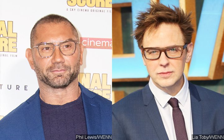 Dave Bautista Elated by James Gunn's Hiring for 'Suicide Squad' Sequel