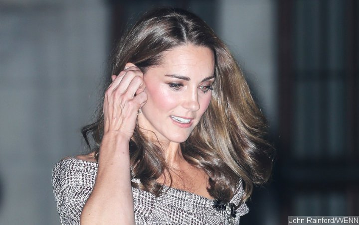 Kate Middleton Shows Off Rare Look During Victoria and Albert Museum Visit