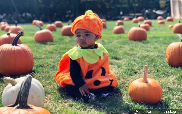 True Thompson Is the Cutest Pumpkin in New Pictures