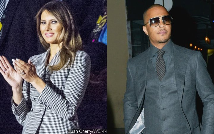 Melania Trump's Office Rages Over 'Disgusting' T.I. Video