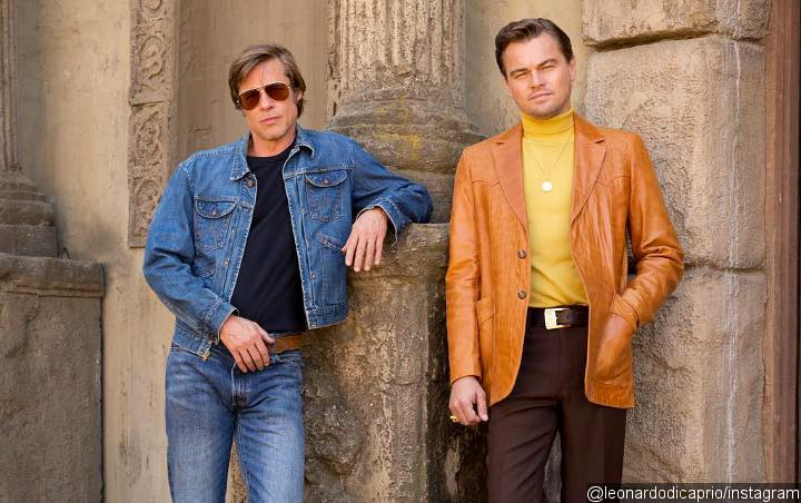 Leonardo DiCaprio Sports Retro-Inspired Haircut in New 'Once Upon a Time in Hollywood' Set Photos