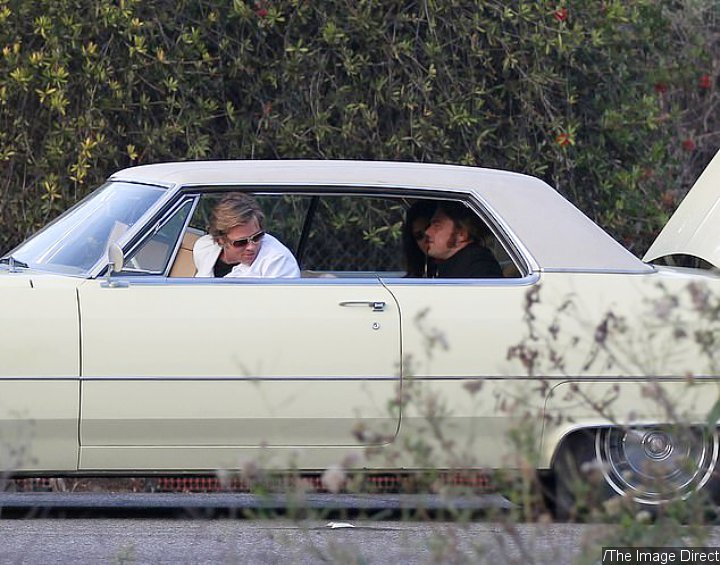 'Once Upon a Time in Hollywood' Set Photo