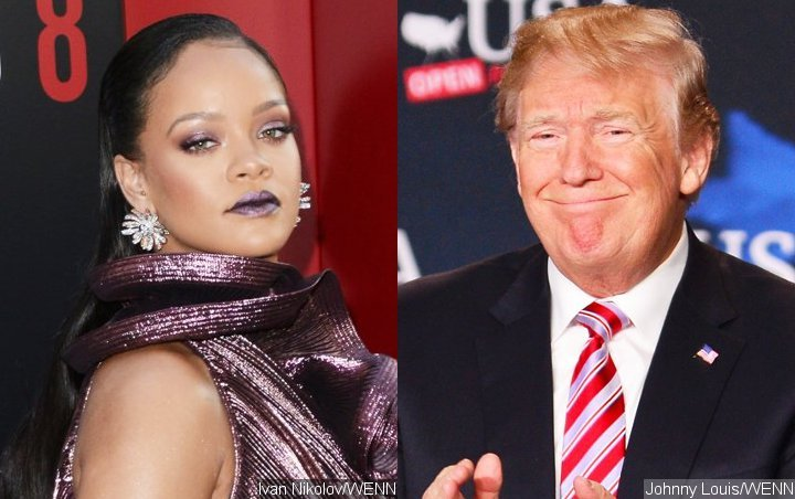 Rihanna Threatens to Sue Donald Trump Over Use of Music at Rallies