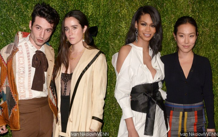 Ezra Miller and Chanel Iman Among Those Turning Heads at CFDA/Vogue Event Red Carpet