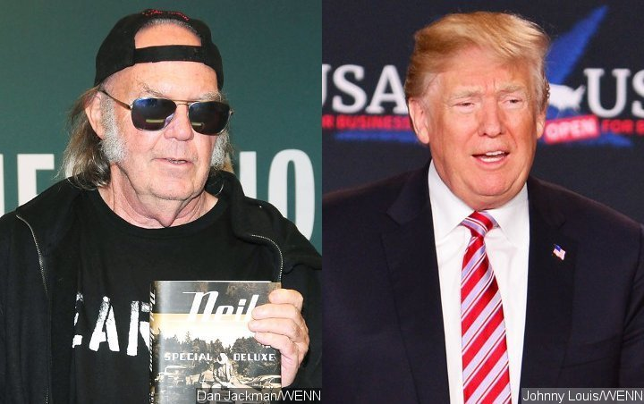 Neil Young Slams Donald Trump for Ignoring Song Ban