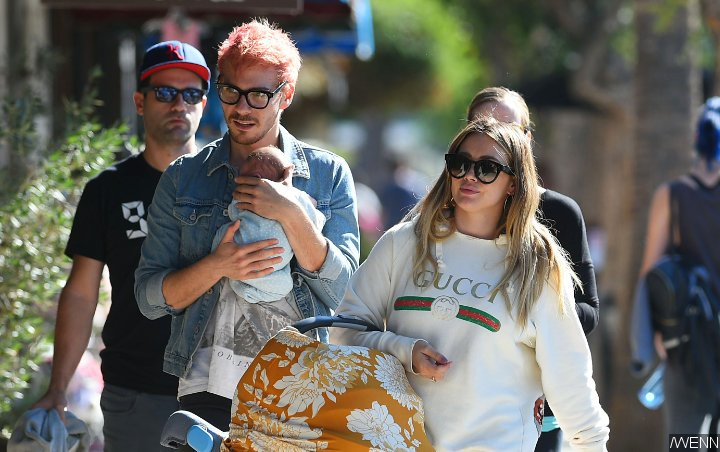 Pics: Hilary Duff and Matthew Koma's Newborn Daughter Banks Spotted on Her First Outing