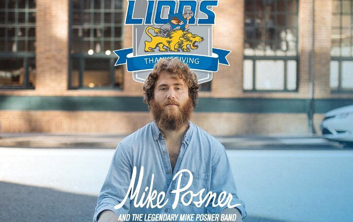 Mike Posner Baffles Fans With His Scruffy Look at NFL Halftime Show