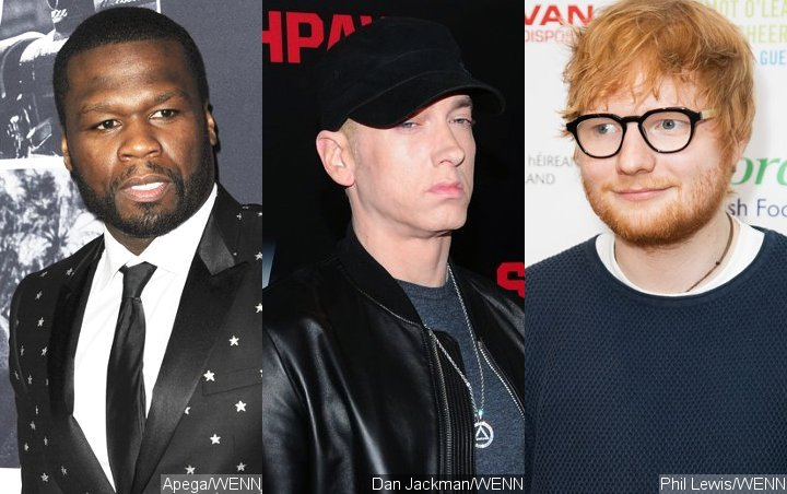 50 Cent Raves About Fun Collaboration With Eminem and Ed Sheeran