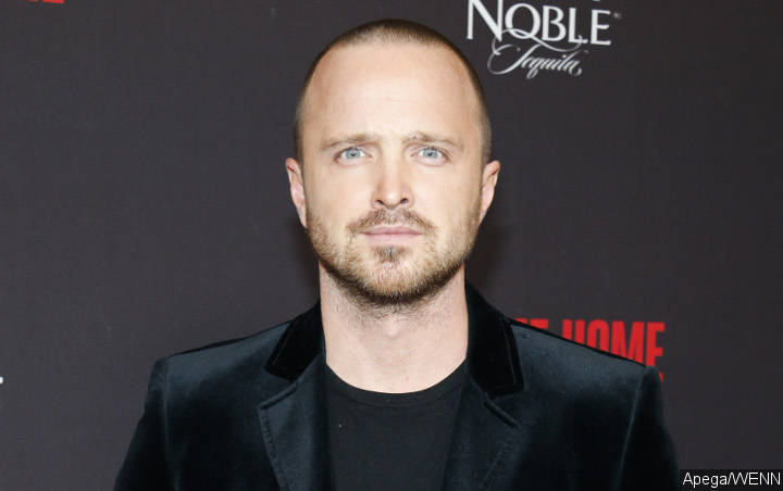 Aaron Paul Attributes Work and Family to Social Media Break
