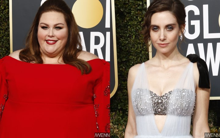 Chrissy Metz Claims Her Shade at Alison Brie Was 'Fabricated'