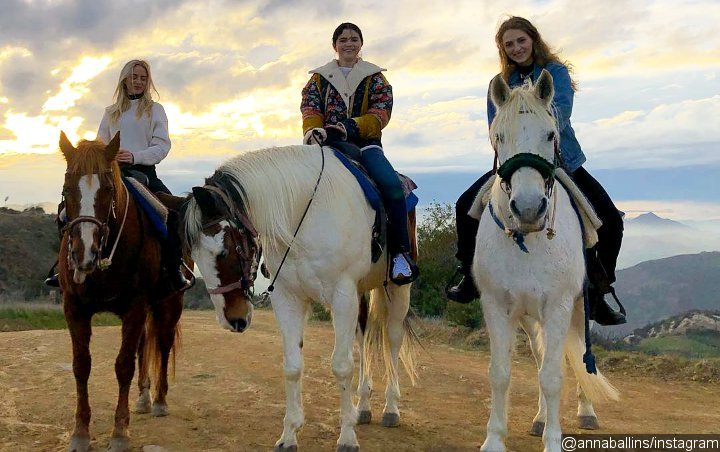 Selena Gomez Is All Smiles During Horseback Riding Session With Friends Post-Rehab