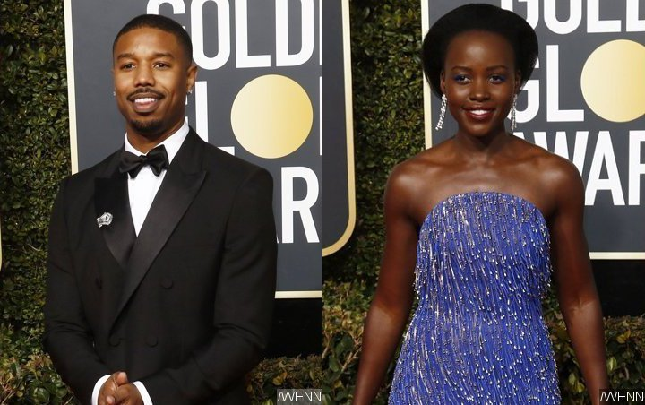 Michael B. Jordan and Lupita Nyong'o Not Denying They Have 'Good Chemistry' Together