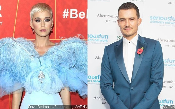 Katy Perry Sets Off Engagement Rumors With Response to Orlando Bloom Birthday Tweet