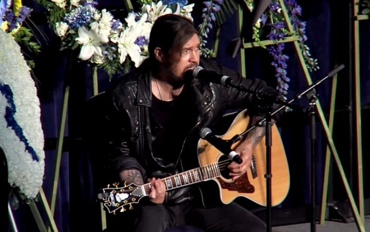 Watch: Billy Ray Cyrus Performs Song for Fallen Soldiers at Slain Davis Officer's Funeral