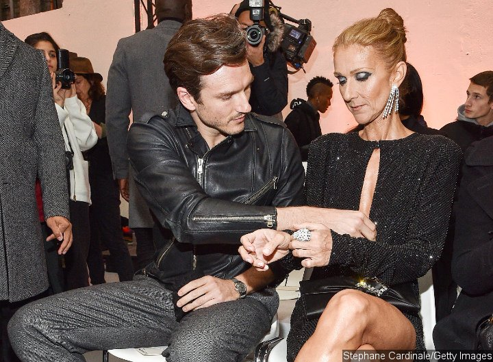Pepe Munoz and Celine Dion