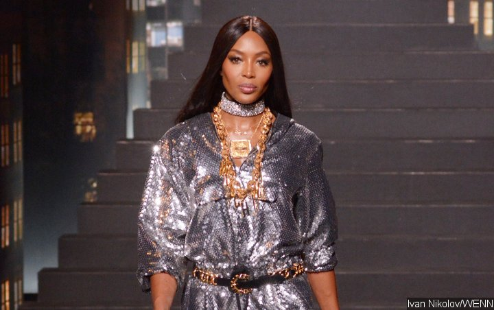 Naomi Campbell Stuns in Nipple-Baring Dress for Her Valentino Runway Return
