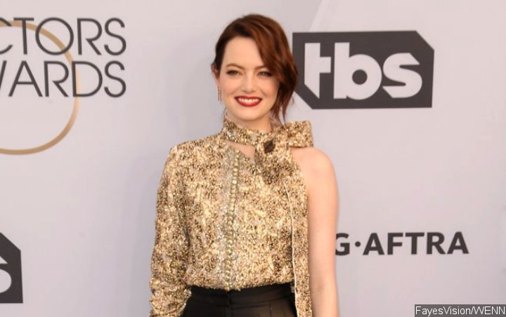 Emma Stone Finally Goes Public With Beau Dave McCary at 2019 SAG Awards