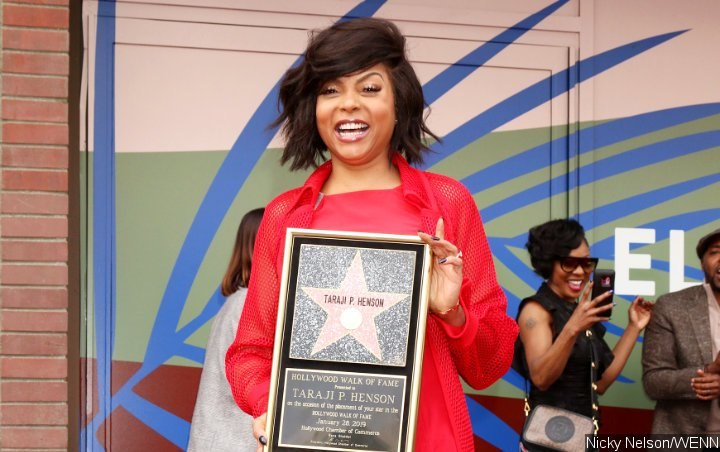 Taraji P. Henson Gets Emotional While Receiving Hollywood Walk of Fame Star
