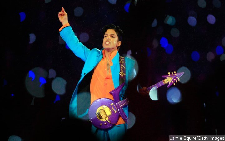 Prince at Super Bowl XLI