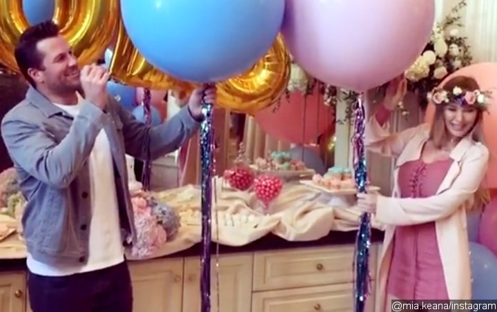 Doug Reinhardt Reveals He Will Father Twin Boys at Gender Reveal Party